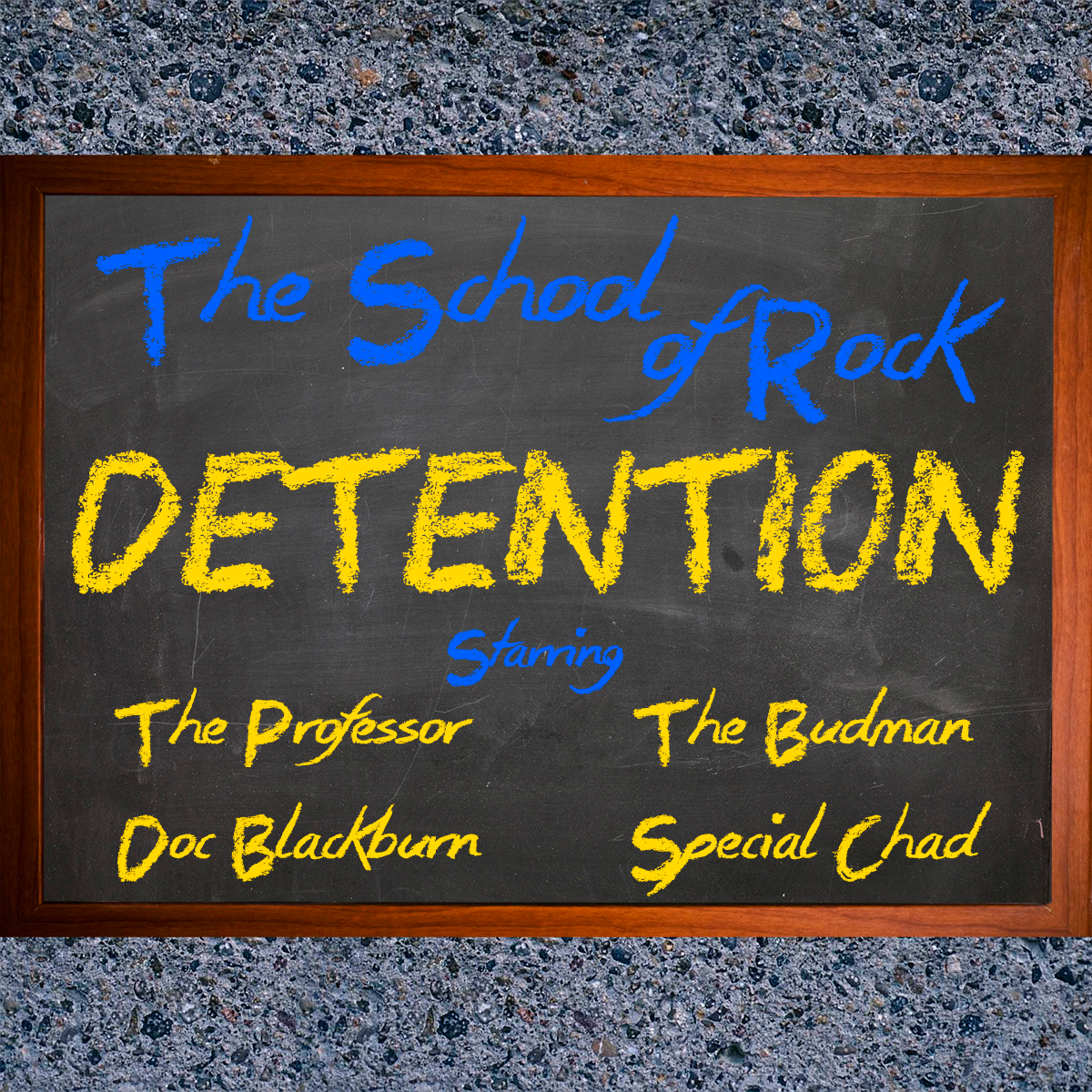 The School of Rock - Detention